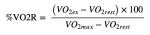 equazione vo2 max