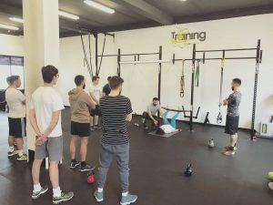 allenamento con metodo step by step