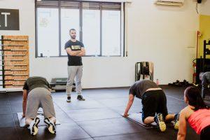 allenamento in palestra
