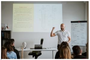 valutazione posturale durante un corso
