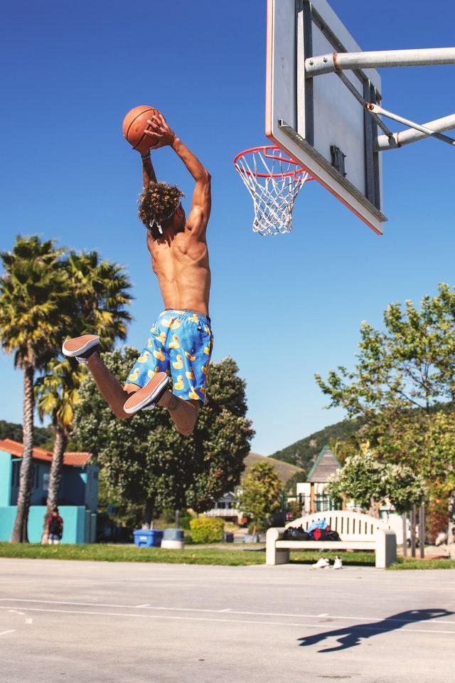 allenamento basket con pliometria