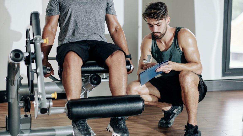 leg extension ginocchio