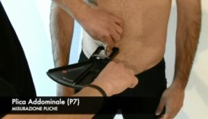 misurazione di una plica