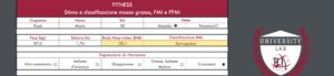 tool stima composizione corporea_compilazione